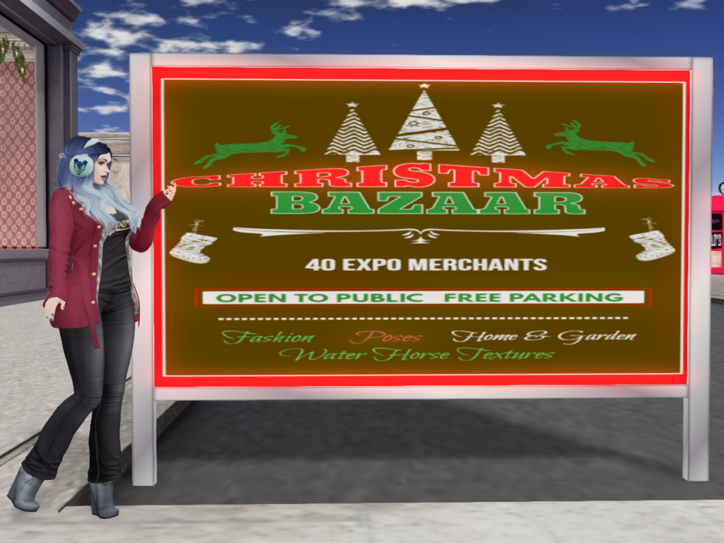 It's Beginning to Look a Lot Like Christmas – The SL Christmas Expo Part 1. Sleigh Ride Sim